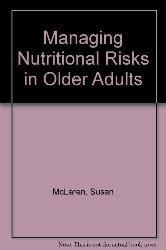 9781902499871: Managing Nutritional Risks in Older Adults