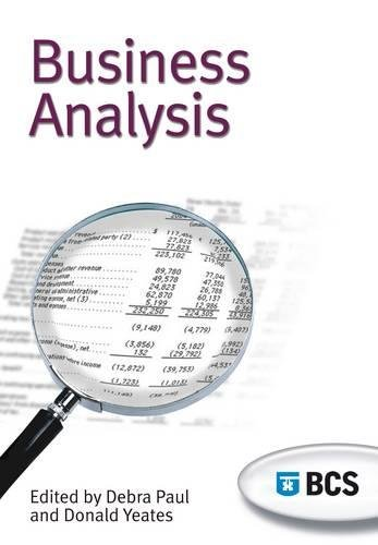 Business Analysis: Don Yeates, Debra