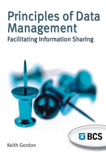 9781902505848: Principles of Data Management: Facilitating Information Sharing