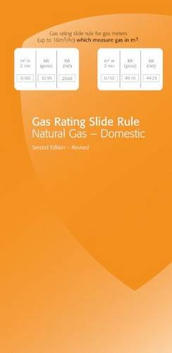 9781902632490: Gas Rating Slide Rule: Natural Gas - Domestic