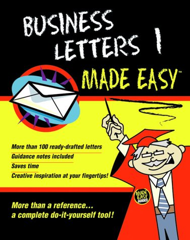 Business Letters Made Easy: v. 1