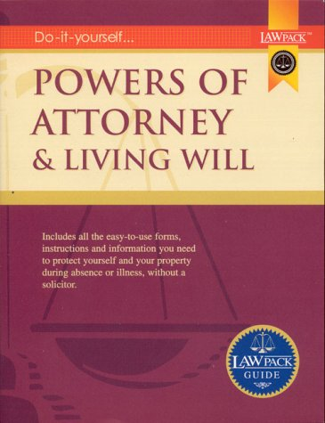 9781902646695: Powers of Attorney & Living Will Guide