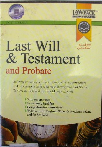 9781902646978: Last Will and Testament and Probate: Version 6.1