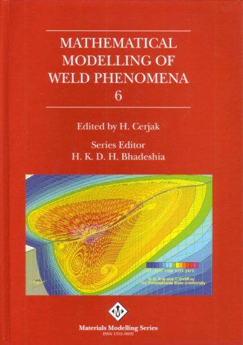 B0784 Mathematical modelling of weld phenomena 6
