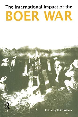 9781902683195: The International Impact of the Boer War