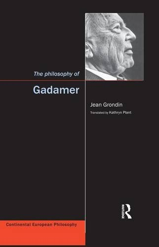 9781902683645: The Philosophy of Gadamer (Continental European Philosophy)