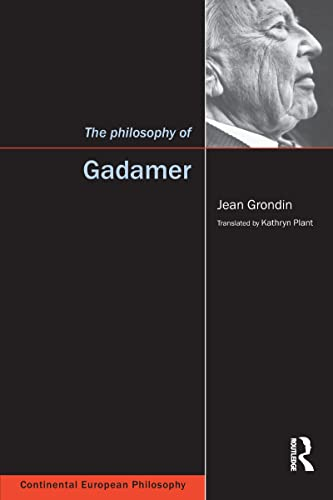 9781902683652: The Philosophy of Gadamer (Continental European Philosophy)