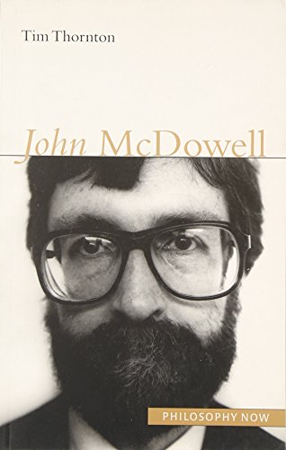 9781902683720: John McDowell (Philosophy Now)
