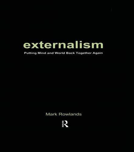 9781902683775: Externalism