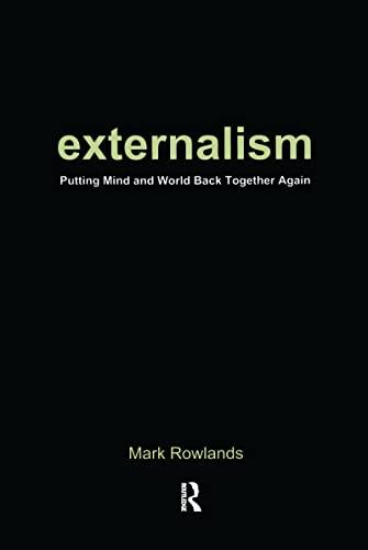 9781902683782: Externalism