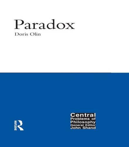 9781902683812: Paradox (Central Problems of Philosophy)