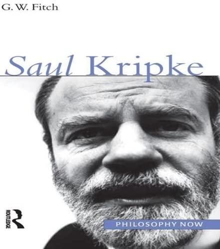 9781902683874: Saul Kripke (Philosophy Now)