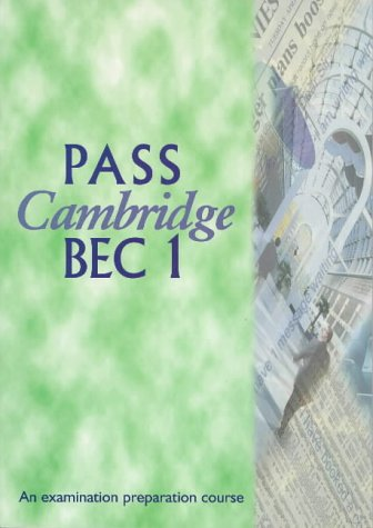 pass cambridge bec vantage student's book