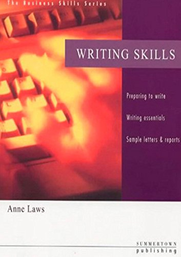 Business Skills Series: Writing Skills: Anne Laws