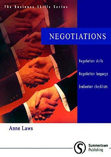 9781902741246: Business Skills Series: Negotiations