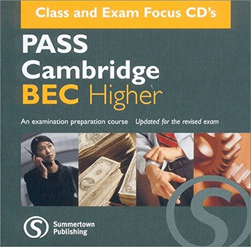 9781902741383: Pass Cambridge Bec Higher: Higher CD-audio Pack