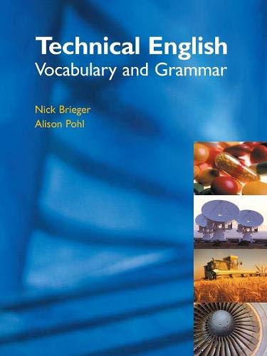 9781902741765: Technical English: Vocabulary and Grammar