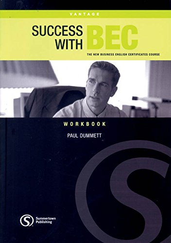 9781902741956: Success with Bec Vantage Workbook