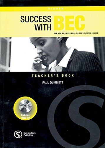 9781902741970: Success with Bec Higher Teacher Book + CD