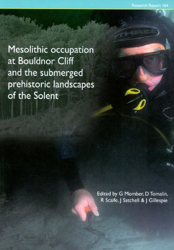 9781902771847: Mesolithic Occupation at Bouldnor Cliff and the Submerged Prehistoric Landscapes of the Solent (CBA Research Reports)