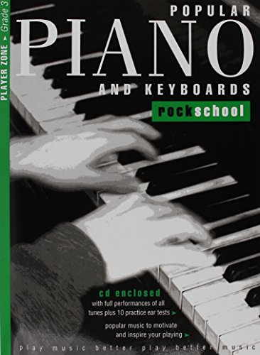 9781902775296: Rockschool - Popular Piano and Electronic Keyboard: Grade 3-Book and CD