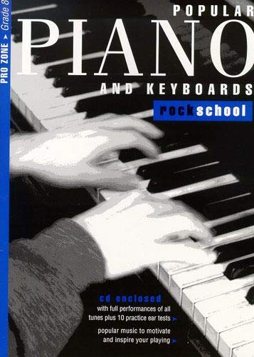 9781902775333: Rockschool Popular Piano and Keyboards Grade 8 (2001-2015)
