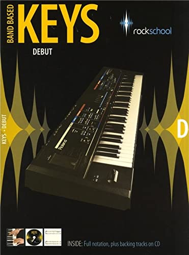 9781902775784: Rockschool Band Based Keys Debut 2009 (Book & CD)