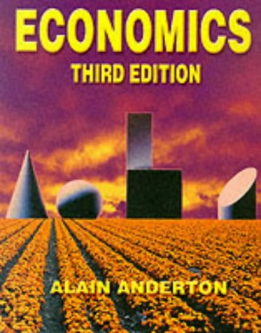 Economics: Mr Alain Anderton