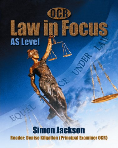 9781902796437: OCR Law in Focus:AS Level