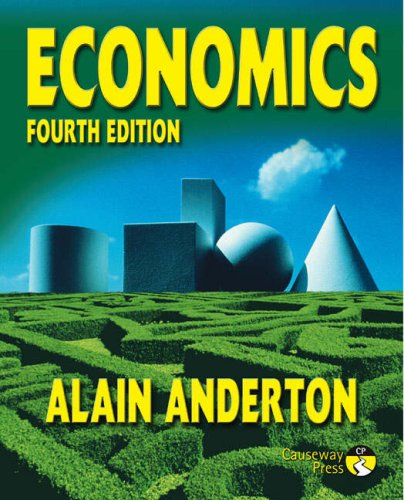 Economics: Alain Anderton