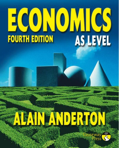 Economics AS Level: Anderton, Mr Alain