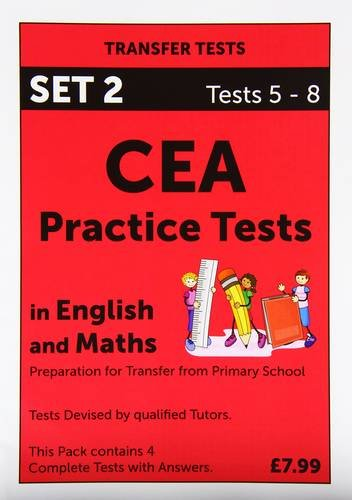 9781902858142: CEA Practice Tests in English and Maths: Tests 5 - 8 Pack 2
