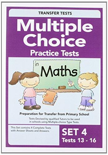 Multiple Choice Maths 4 - Quinn, Pat