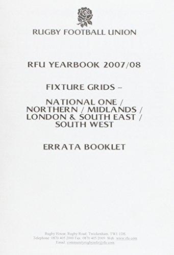 9781902865447: Rugby Football Union Handbook