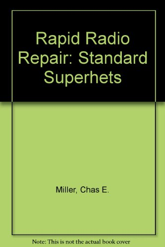 9781902866000: Rapid Radio Repair: Standard Superhets