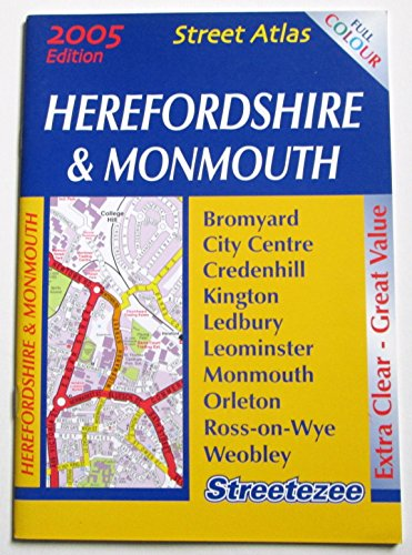 9781902884516: Herefordshire & Monmouth Street Atlas