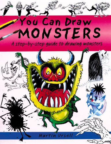 You Can Draw Monsters: A Step-by-Step Guide to Drawing Monstrous Beasts (1902915267) by [???]