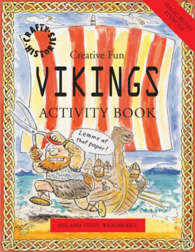 9781902915760: Vikings Activity Book (Crafty History)