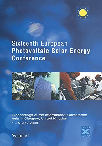 16th Photovoltaic Solar Energy Conference: Proceedings of: Hermann Scheer (Author)