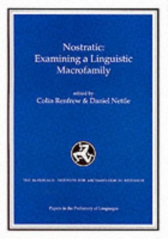 9781902937007: Nostratic: Examining a Linguistic Macrofamily