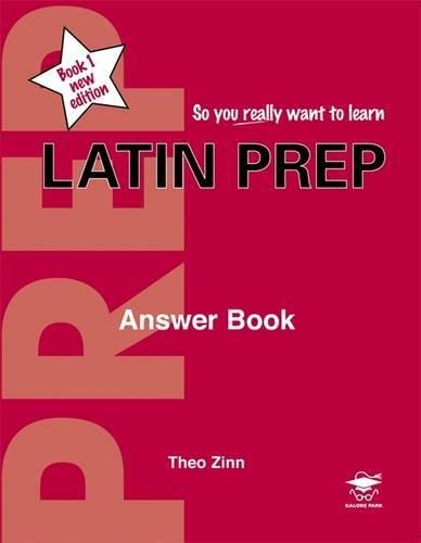 9781902984162: Latin Prep: Answer Book Book 1