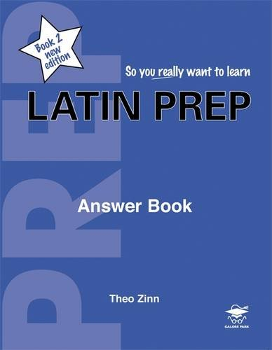 9781902984421: Latin Prep: Answer Book Book 2