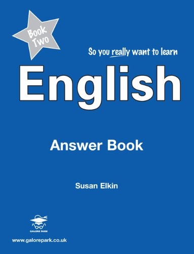9781902984575: So You Really Want to Learn English Book 2: Answer Book