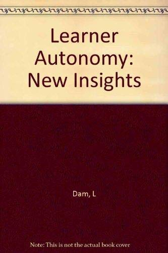 Learner Autonomy: New Insights