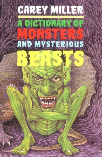 9781903015582: Dictionary of Monsters and Mysterious Beasts