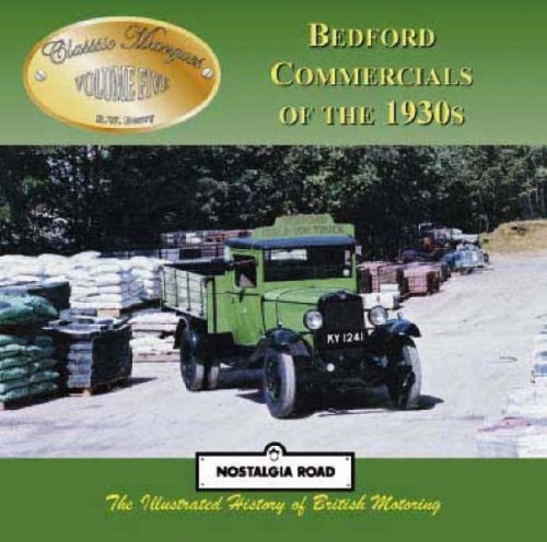 9781903016367: Bedford Commercials of the 1930s (Classic Marques)