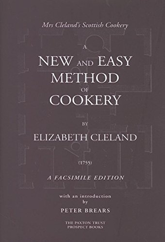 9781903018392: A NEW AND EASY METHOD OF COOKERY: A FASCSIMILE EDITION