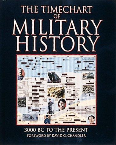 The Timechart of Military History (Time Charts): John Cule
