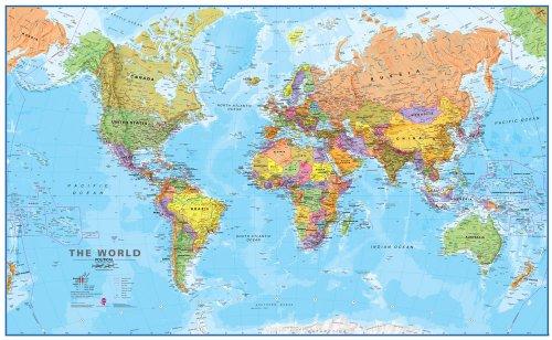 9781903030462 World Political Map 2017 Ti Im En 20 Timaps 1 20
