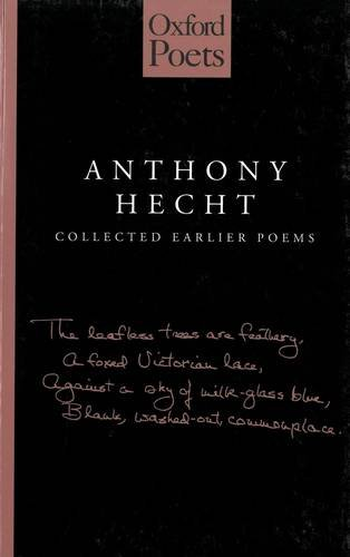 9781903039137: Collected Earlier Poems:Hecht